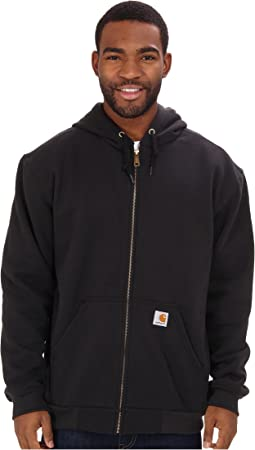 RD Rutland Thermal-Lined Hooded Zip-Front Sweatshirt