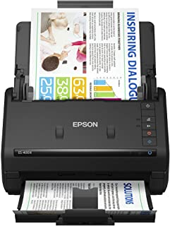Epson Workforce ES-400 II Color Duplex Desktop Document Scanner for PC and Mac, with Auto Document Feeder (ADF) and Image ...