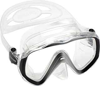 Adult Single Lens Mask for Maximum Vision While Scuba Diving and Snorkeling   LIBERTY by Cressi: quality since 1946