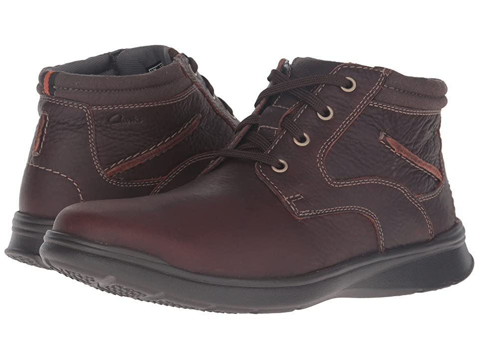 Clarks Cotrell Rise (Brown Oily Leather) Men