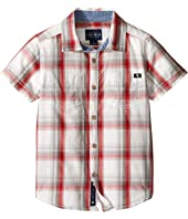Lucky Brand Kids - Overflow Short Sleeve Woven (Little Kids/Big Kids)