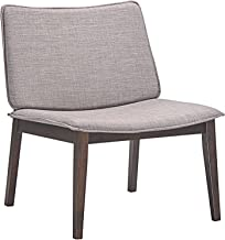 Modway Evade Lounge Chair, Walnut Gray