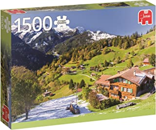 JUMBO The Bernese Oberland Switzerland Jigsaw Puzzle (1500 Piece)