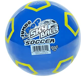 Maui Toys Jumbo Pop Soccer Sky Ball, 120mm, Assorted Colours