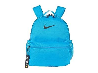 Nike Kids Brasilia JDI Mini Backpack (Little Kids/Big Kids) (Laser Blue/Laser Blue/Black) Backpack Bags