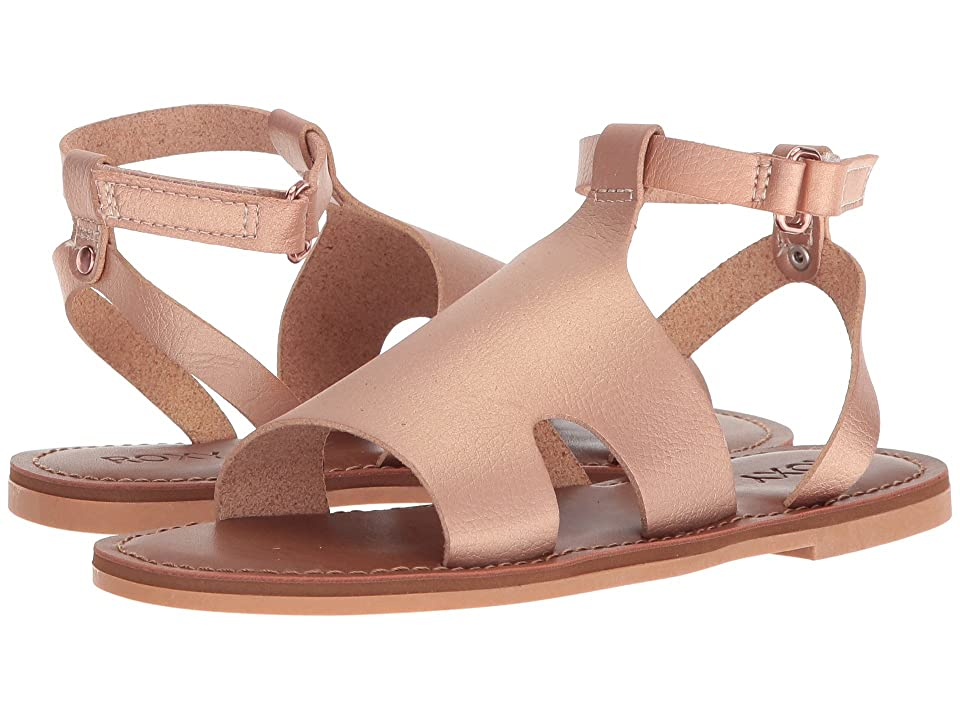 Roxy Kids Rosa Sandal (Little Kid/Big Kid) (Rose Gold) Girls Shoes