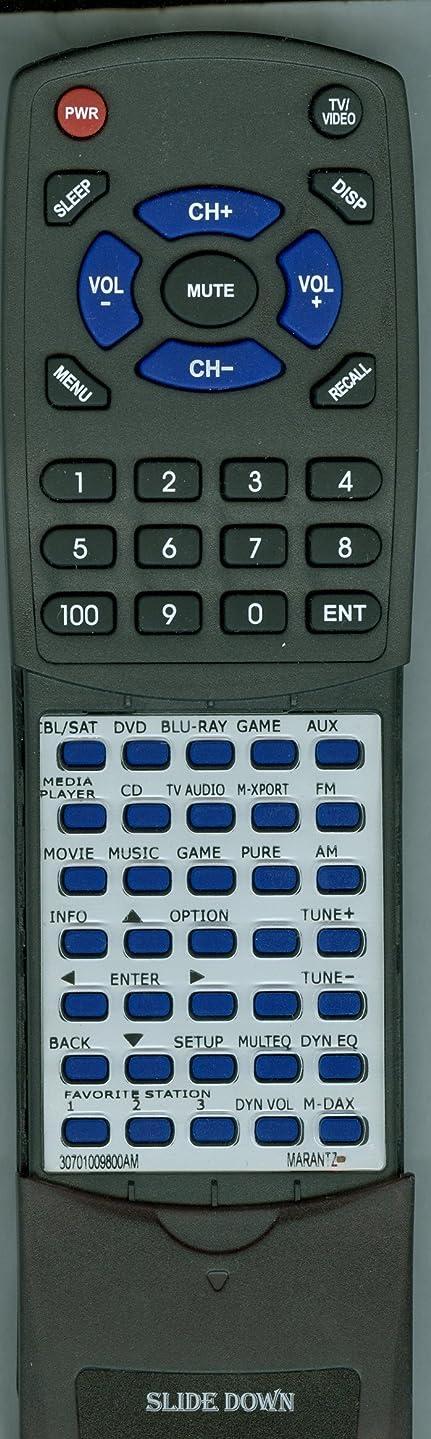 Replacement Remote for Marantz 30701009800AM, RC-018SR, NR1403