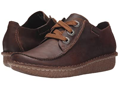 Clarks Funny Dream (Brown Leather) Women