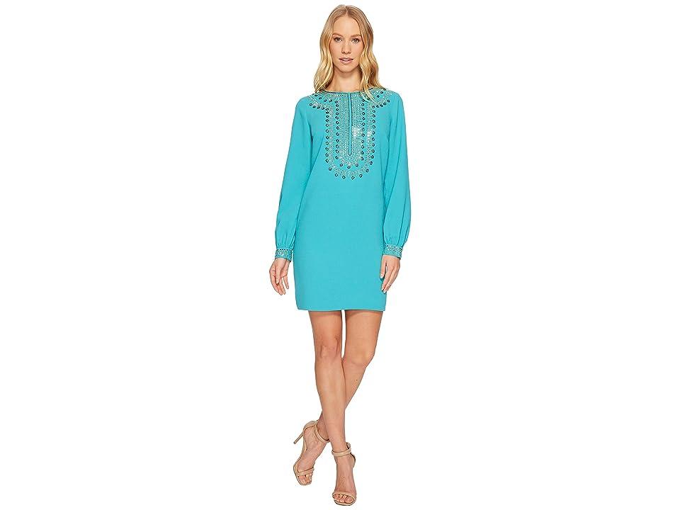 Trina Turk Kapono Dress (Aquatic) Women