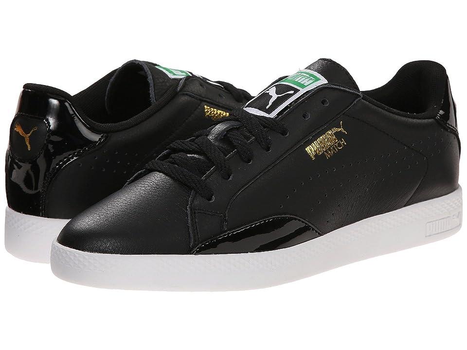 big sale ad898 988c8 PUMA Match Lo (Black Black White Multi Snake) Women s Shoes