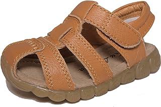 CONDA Kids Leather Sandals, Closed Toe Sandals