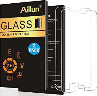 Ailun Screen Protector Compatible Galaxy S6,[2 Pack] 9H Hardness,2.5D Edge Tempered Glass,Anti-Scratch,Case Friendly-Siania Retail Package
