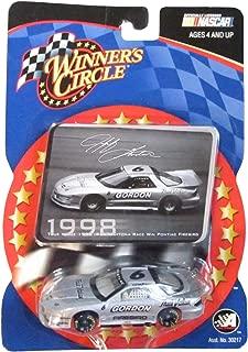 2003 Edition Action Jeff Gordon #6 Winner's Circle Driver Sticker True Value 1998 IROC Daytona Race Win Pontiac Firebird and Grey 1:64 1/64 Scale Diecast