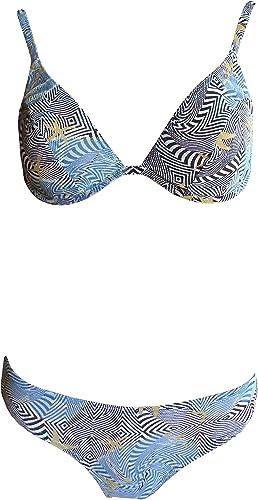 Solaire Tan Thru Bikini avec armatures 120892–50Bleu