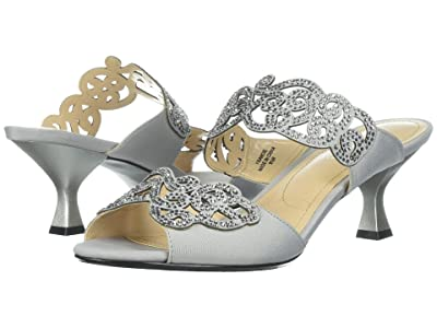 J. Renee Francie (Silver) High Heels