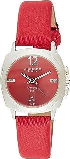 Akribos XXIV Women's Empire Analogue Display Quartz Watch with Textile Strap