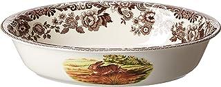 Spode Woodland Rabbit Oval Rim Dish