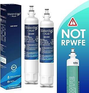 Waterdrop RPWF Refrigerator Water Filter Compatible with GE RPWF, RWF1063, RWF3600A, WSG-4, DWF-36, R-3600, MPF15350, OPFG3-RF300, BCF77, WF277 (2 PACK)