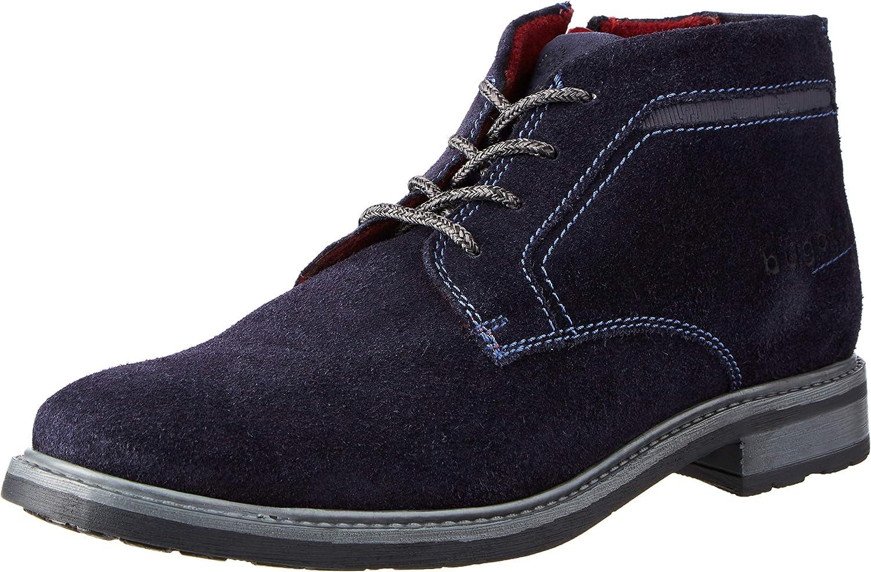 bugatti Men's 311A17301400 Oxford Boot, Dark Blue, 8 UK