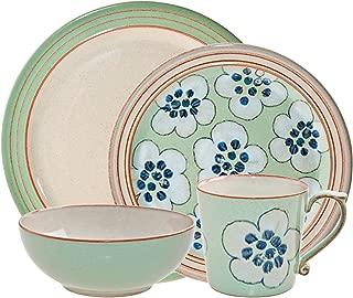 Denby 16-Piece Heritage Orchard Dinner Set, Set of 4