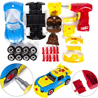 Toy Car - Little Mechanic - Build Yourself DIY Racecar Assembly Kit