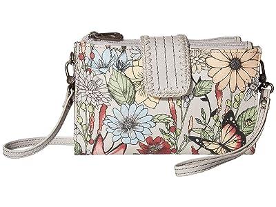 Sakroots Olympic Smartphone Crossbody (Blush in Bloom) Handbags