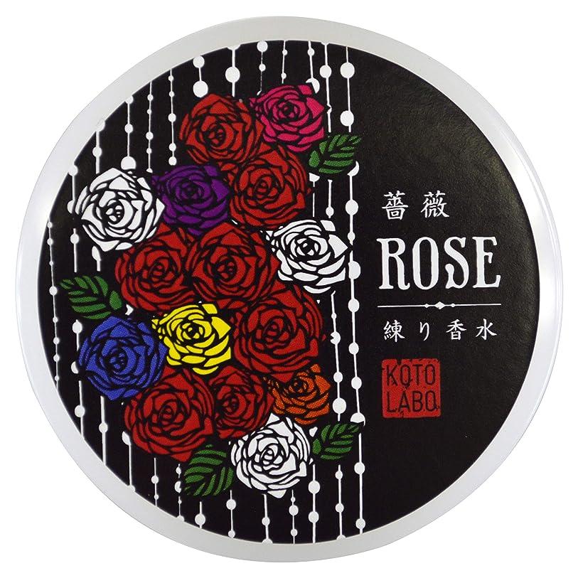 維持満足できる血統コトラボ 練り香水 8g 薔薇