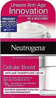 Neutrogena Cellular Boost ansiktskräm, anti-age dagvård SPF 20, med C-vitamin, även för känslig hud, 50 ml