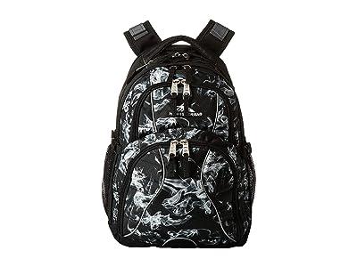 High Sierra Swerve Laptop Backpack (Black Vapor/Black) Backpack Bags