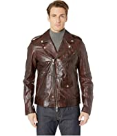 BELSTAFF - Sidmouth Signature Hand Waxed Leather Jacket