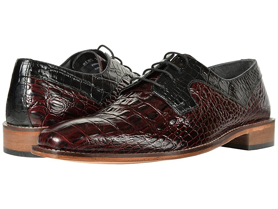 Stacy Adams Garelli (Black/Oxblood) Men