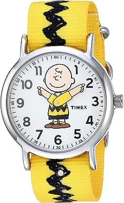 Timex - Weekender X Peanuts Nylon Slip-Through Strap
