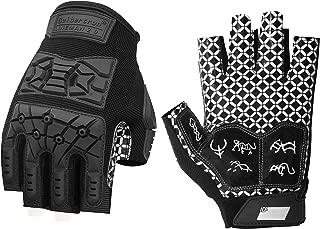 Best fingerless football gloves Reviews