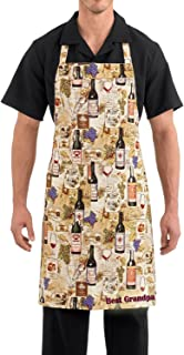 Tiger Chef Professional Series Design Your Own Personalized Apron for Chefs and Sous Chef and Little Cooks (Adult - 1 Line Personalize, Vintage)