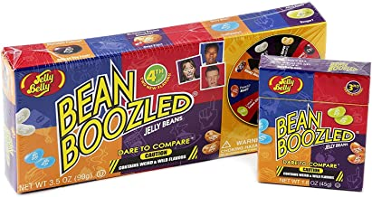 Jelly Belly 4th Edition Beanboozled Jelly Beans Spinner Game - 3.5 oz with Refill