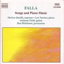 Falla: Songs And Piano Music