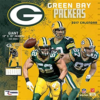 Green Bay Packers 2017 Calendar