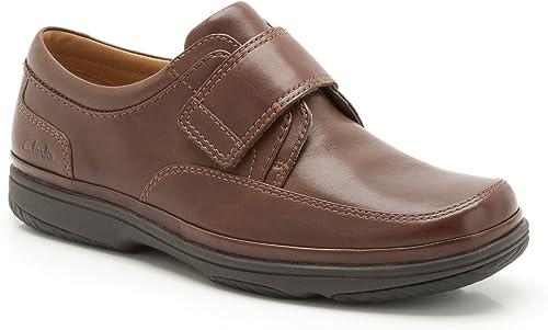 Clarks Swift Turn Turn Walnut Leather 7.5 H