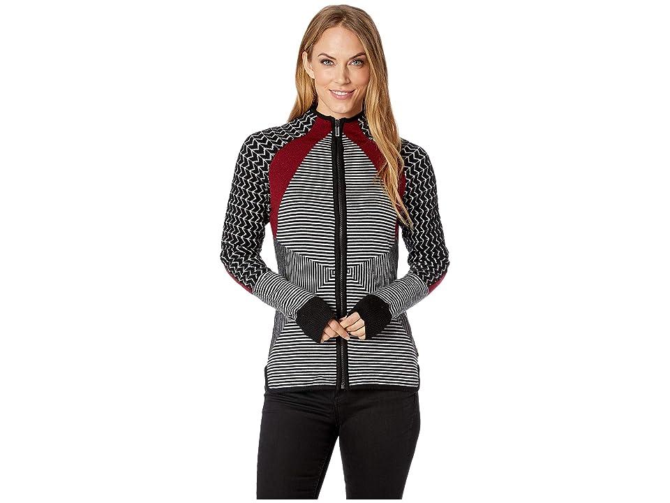 Smartwool Dacono Ski Full Zip Sweater (Black) Women