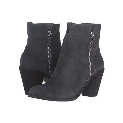 SoftWalk Fairhill (Dark Grey Cow Suede Leather) Women