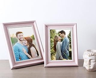 Art Street Table Photo Frame (Rose Pink) -- Set of 2