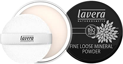 lavera Polvo mineral -Transparente- vegano - cosméticos naturales 100% certificados - maquillaje - 8 gr