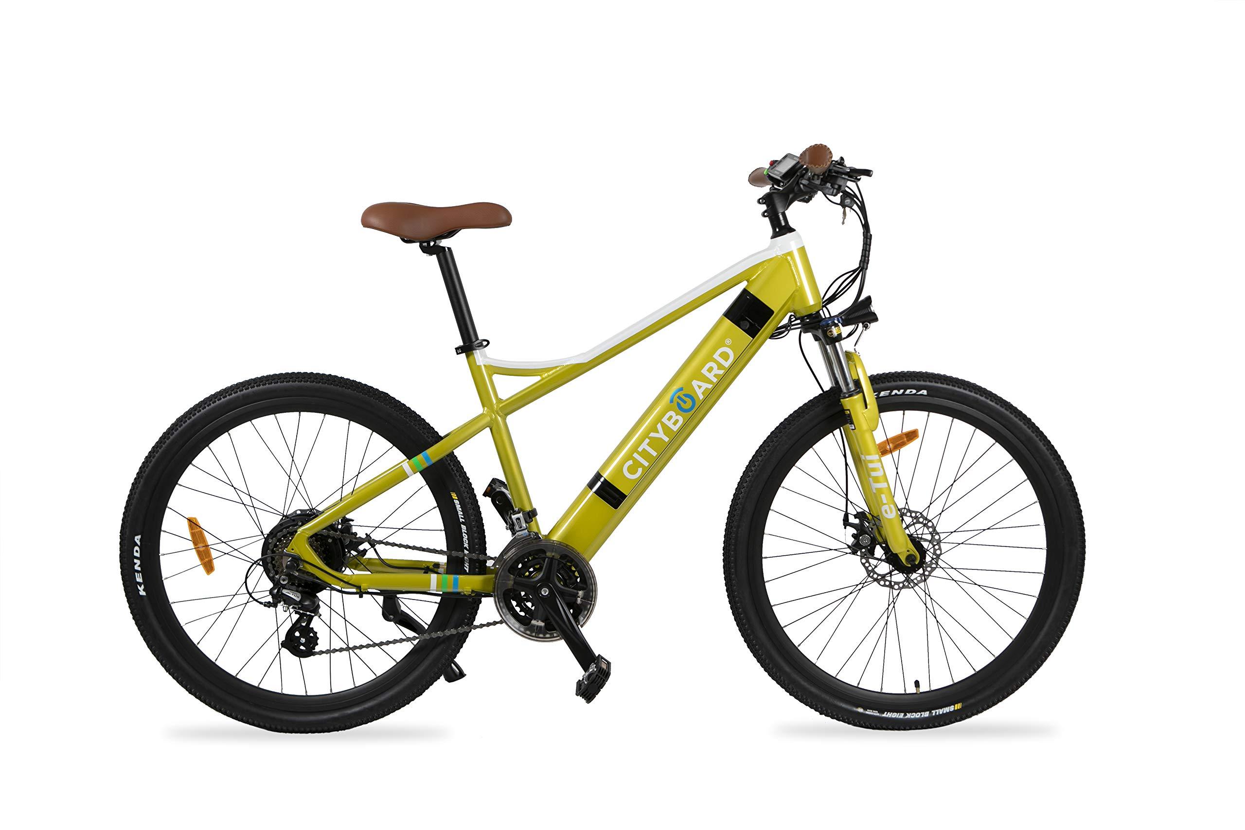 Cityboard E- Tui Bicicleta Eléctrica, Unisex Adulto, Negro/Azul ...