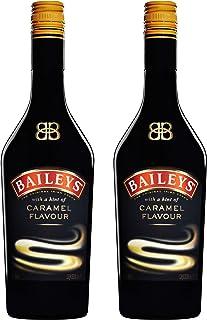 Baileys Caramel, 2 Unidades, Original Irish Cream Liqueur, Ireland, Nata de Licor, Alcohol, Bebidas alcohólicas, Botella, 17% 700 ml