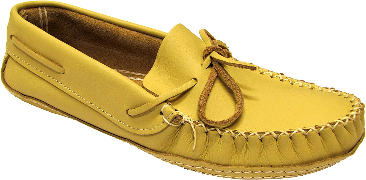 Barbo Men's Deer Hide Leather Moccasins