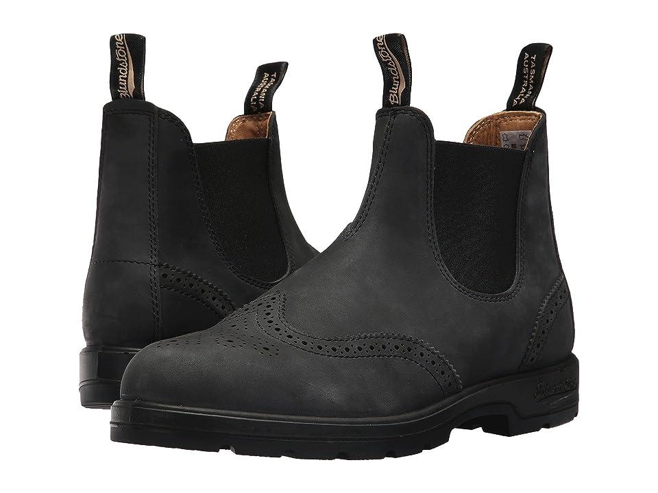 Blundstone BL1472 (Rustic Black Brogue) Boots