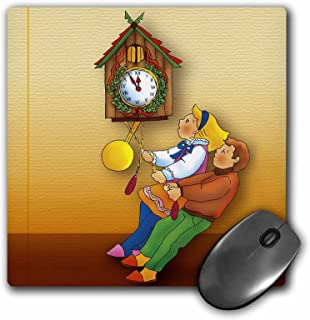 3dRose LLC 8 x 8 x 0.25 Inches Mouse Pad, Wall Clock and Kids (mp_41843_1)