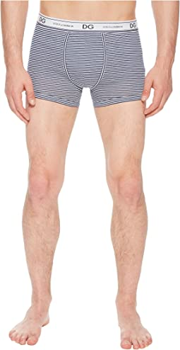 Striped Cotton Regular Boxer