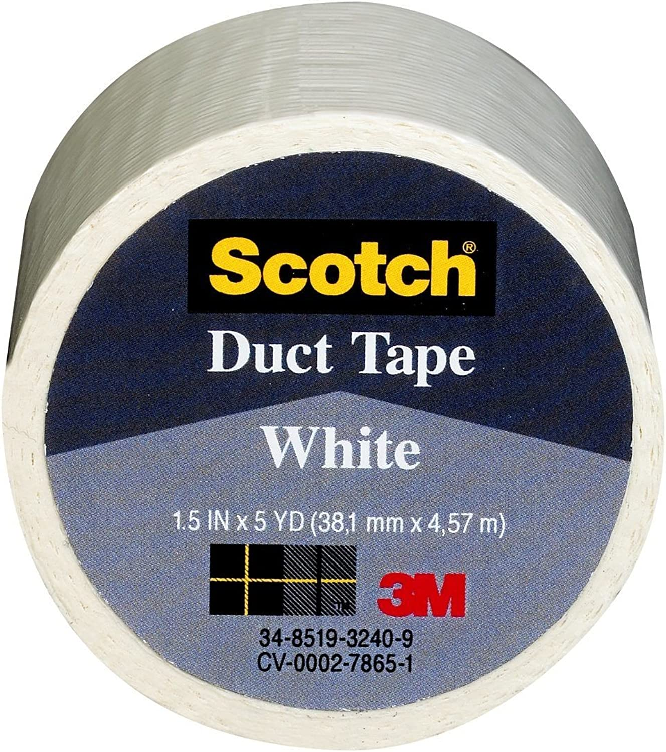 3m 1.5in. X 5 Yards Yards Yards Weiß Scotch Duct Tape 1005-WHT-1P - 6er Pack B0018PFVAA  Elegant 53dfdd