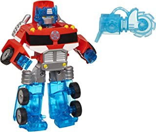 Playskool Heroes Transformers Rescue Bots Energize Optimus Prime Action Figure, Ages 3-7..